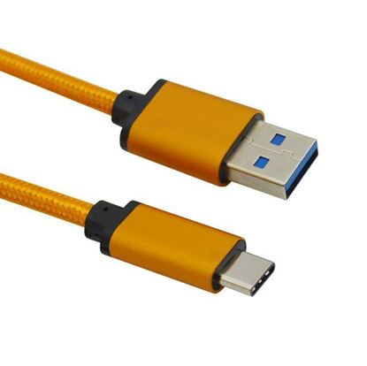 Picture of Nylon braided USB C Type To USB 3.0 Cable 2.4A safe charge